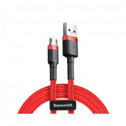 купить Кабель Baseus Micro-USB 2m 1.5A Red (CAMKLF-C09) Cafule Cable в спб в магазине smartmarket-20