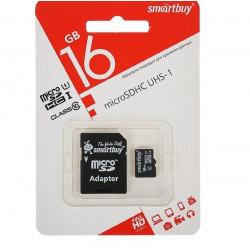 купить Карта памяти SmartBuy MicroSD 16GB Class 10 в спб в магазине smartmarket-20