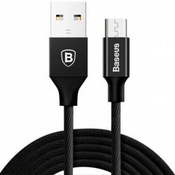 купить Кабель Baseus Micro-USB 1м 2A Black (CAMYW-A01) Yiven Cable в спб в магазине smartmarket-20