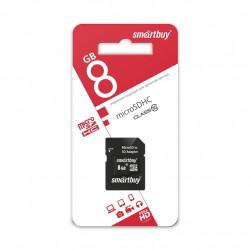 купить Карта памяти SmartBuy MicroSD 8GB Class 10 в спб в магазине smartmarket-10